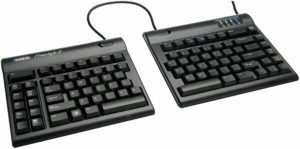 quiet ergonomic keyboard for pc