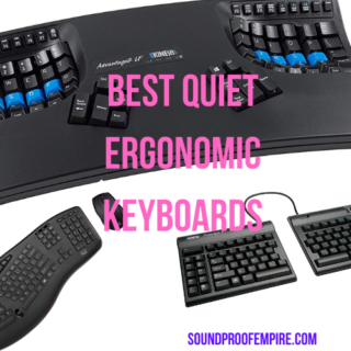 quiet ergonomic keyboard