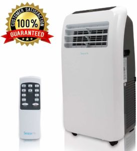 SereneLife 12,000 BTU Portable Air Conditioner, 3in1 Floor AC Unit with BuiltIn Dehumidifier,