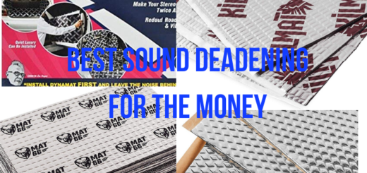 best sound deadening for the money