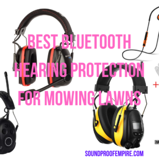 Best Bluetooth Hearing Protection for Mowing Lawns