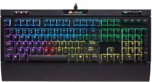 Corsair Strafe RGB MK.2 Mechanical Gaming Keyboard,best quiet mechanical keyboards for gaming