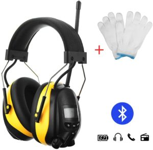 GIMGEM Wireless Hearing Protector with Bluetooth Technology, Noise Cancelling AM FM Radio Headphones