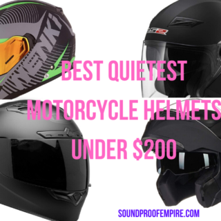 quietest motorcycle helmet under $200