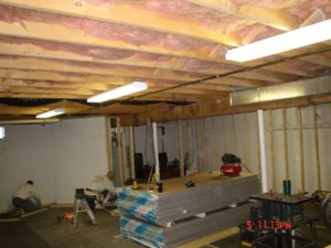 how to soundproof a finished basement ceiling