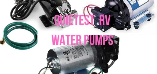 quietest rv water pump