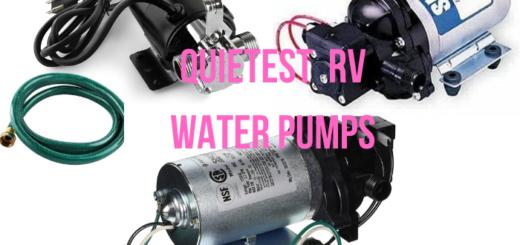 quietest rv water pump