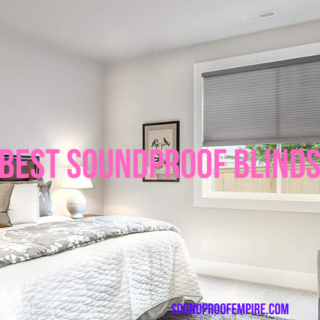 soundproof blinds
