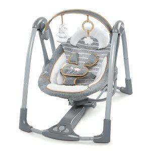 Ingenuity Swing 'n Go Portable Baby Swing,quietest baby swing