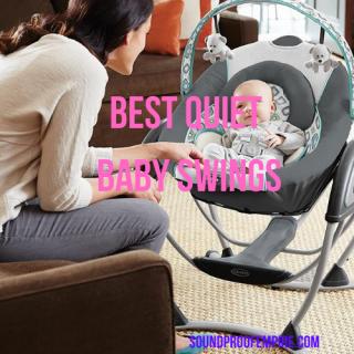 quiet baby swing