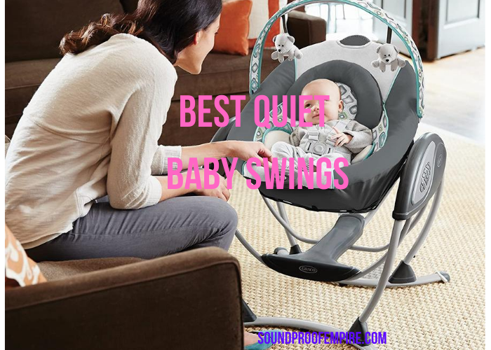 quiet baby swing, best quiet baby swing