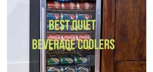 quiet beverage fridge
