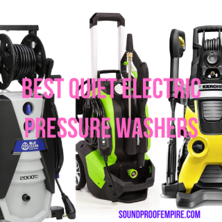 quietest electric pressure washer
