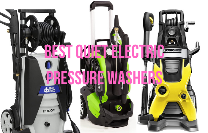 quietest electric pressure washer