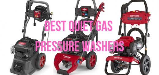 quietest gas pressure washer