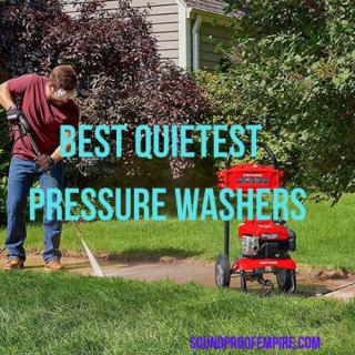 quietest pressure washer