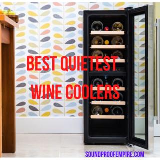 quietest wine cooler,quietest wine cooler, quiet wine fridge,silent wine cooler