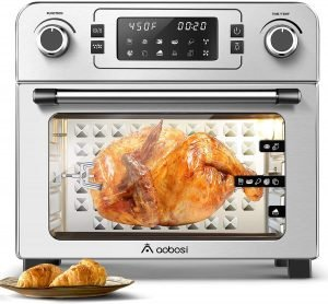 Aobosi Electric Air Fryer Oven Toaster, silent toaster oven
