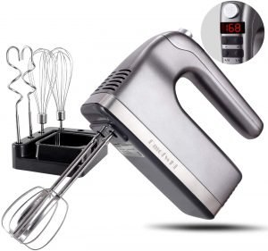 DmofwHi 9-Speed Hand Mixer with Timer