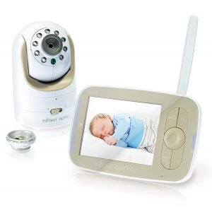 Infant Optics DXR-8 Video Baby Monitor, quiet baby monitor