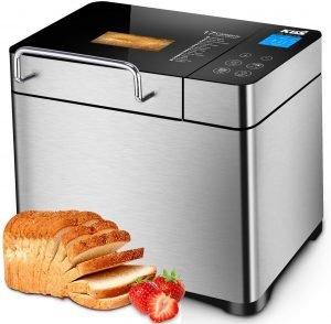 KBS Pro Stainless Steel Bread Machine, silent bread maker