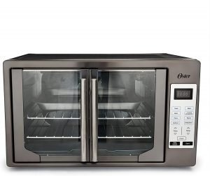 Oster XL Digital Convection Oven with French Doors, quiet convection toaster oven