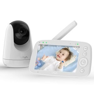 VAVA Baby Monitor with Camera and Audio, silent baby monitor, baby monitor with quiet mode