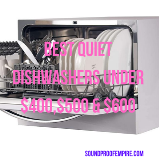 quiet dishwasher under $500