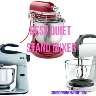 quietest stand mixer