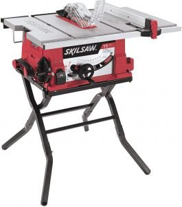SKIL 10-Inch Table Saw with Folding Stand,quiet small table saw