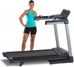 LifeSpan Fitness TR3000i Touch Folding Treadmill