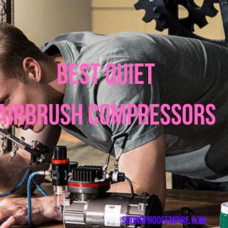 quietest airbrush compressor