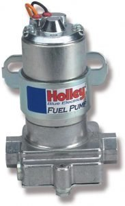 Holley Blue Electric Pump W/O Regulator