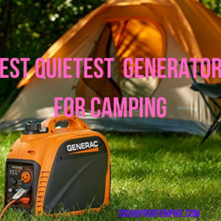 quietest generator for camping