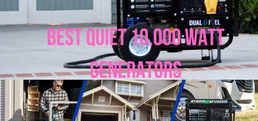 quietest 10000 watt generators