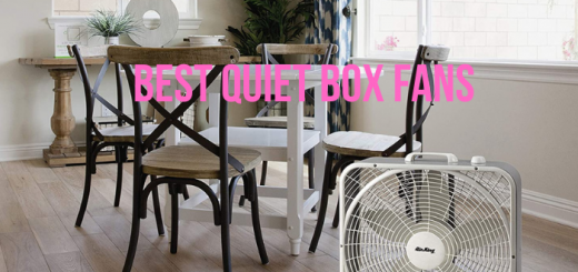 quietest box fan
