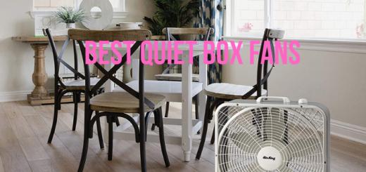 quietest box fan