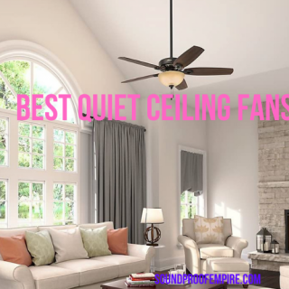 quietest ceiling fan