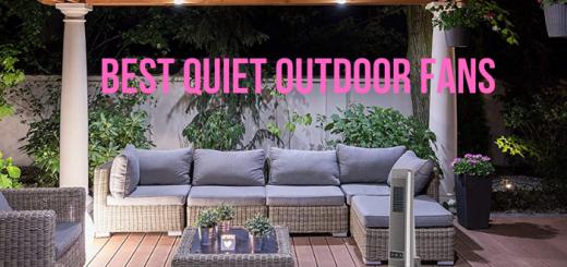 quietest outdoor fan