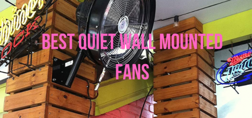 quietest wall mounted fan